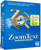 Zoomtext magnifier/screenreader v10